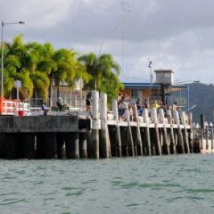 Wharves in cooktown