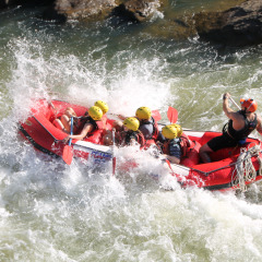 White water rafting in Cairns not for the faint hearted