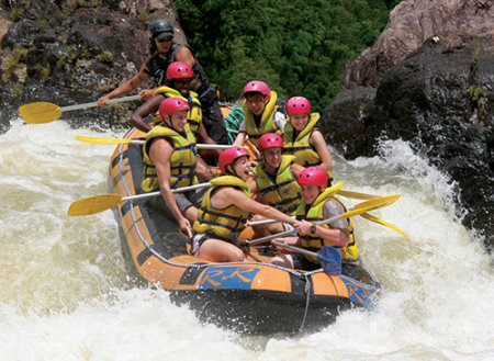 White Water Rafting in Far North Queensland