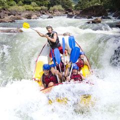 White Water Rafting in the Tully River Mission Beach
