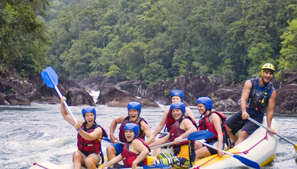 White Water Rafting Tour in Cairns