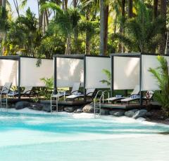 Why not indulge in a Pool Side Cabana - Sheraton Mirage Port Douglas Resort