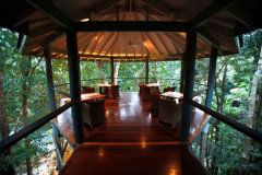 Wonderful relaxing spaces around the Daintree Rainforest Resort