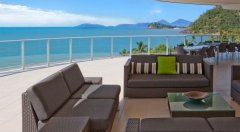 Wrap around balcony with Amazing View from the Penthouse Holiday Apartments