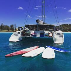 Yacht Charter Port Douglas - SUP Boards