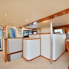 Yacht Charters Cairns - Bar in Salon